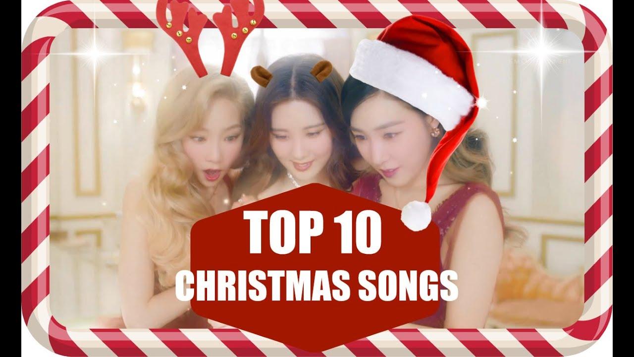 10 CHRISTMAS KPOP SONGS SO FAR|2015 - YouTube