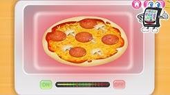 PIZZA SELBER MACHEN Kids Cooking App deutsch | Kinder Koch Spiel selber kochen lernen