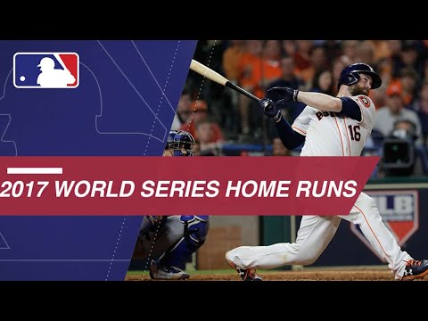 Watch all the home runs from the 2017 World Series