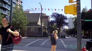 Walking in Downtown Vancouver Canada - Richards Street - Living/Life in the City