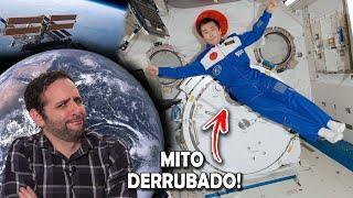Astronautas em gravidade zero? Te enganaram! #AprendiHoje