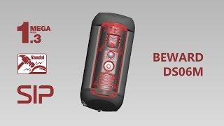 IP-домофон BEWARD DS06M, 1,3 Мп, SIP, антивандальный корпус, удаленный доступ