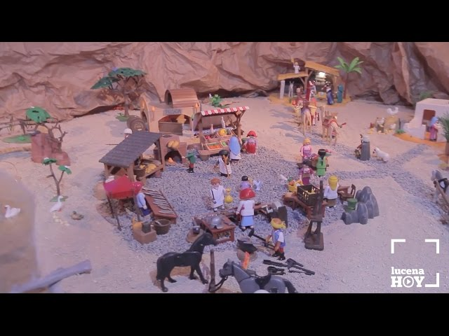 VÍDEO: Ruta Belenística: Te deseamos Feliz Navidad con este portal de Belén repleto de PlayMobil