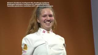 SwissSkills 2018 Siegerehrung B-K-C Fachrichtung Konditorei-Confiserie