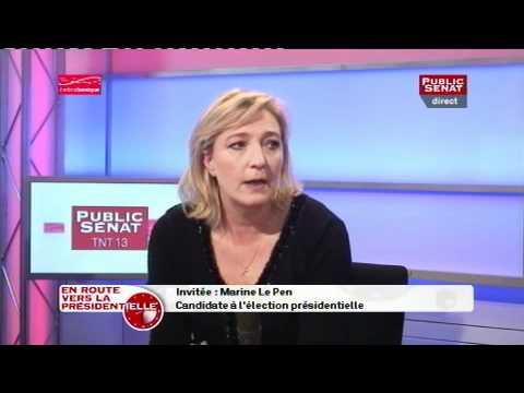 Marine Le Pen dans En route vers la présidentielle, 24/02/2012