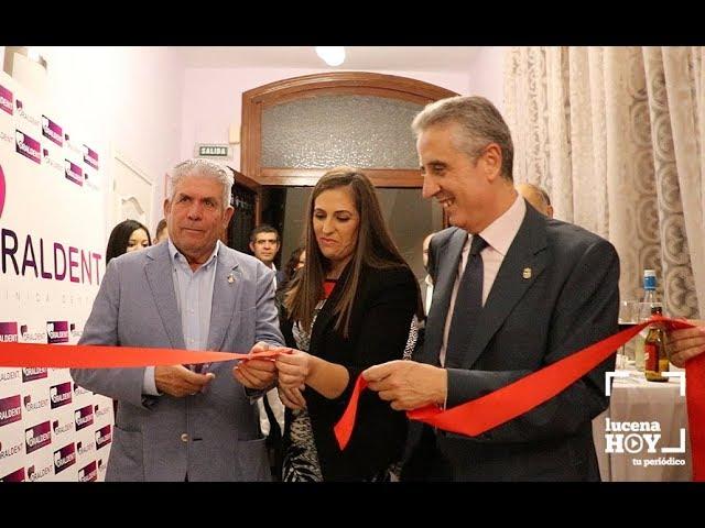 VÍDEO: Estuvimos en la inauguración de la Clínica Dental Oraldent