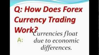 How Does Forex Currency Trading Work?