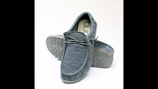 Hey Dude Shoes - 360° Wally Sox Micro (Teal)