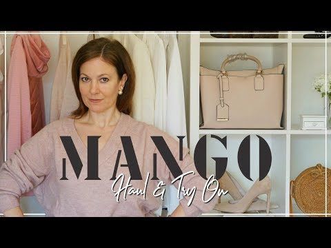 Mango Sale Haul  and Try On January 2019 | Over 40 Fashion 2019