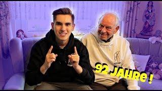 Sprach Challenge mit 92 Jährigen Opa !!! | Miguel Pablo