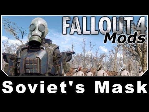 Fallout 4 Mods - Soviet's Mask