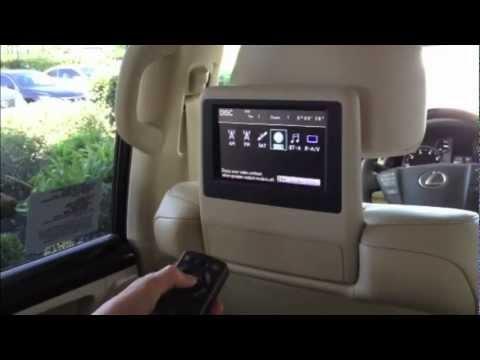 Lexus Rear Entertainment - YouTube