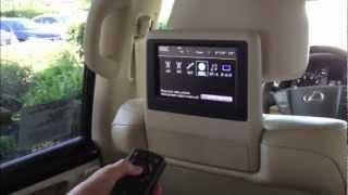 Lexus Rear Entertainment