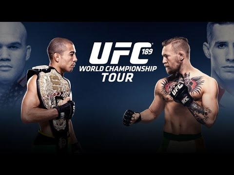 UFC 189: World Tour Press Conference - Dublin