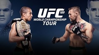 UFC 189: World Tour Press Conference - Dublin