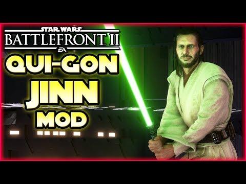 Qui-Gon Jinn Mod! - Star Wars Battlefront 2 - Mod / Mods Deutsch Tombie