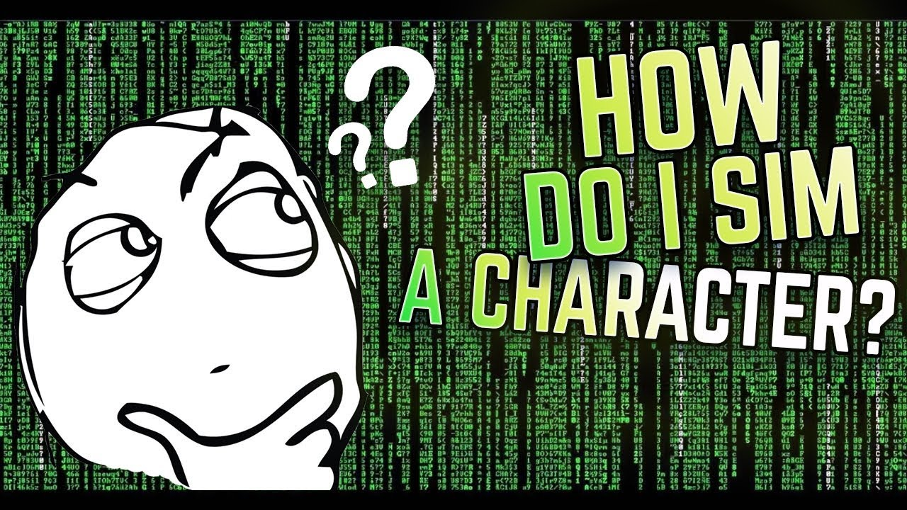 WoW - How to Sim Your Character! (Basic Guide)