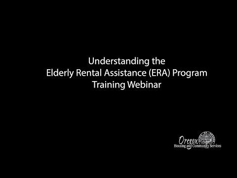 Understanding the Elderly Rental Assistance Program