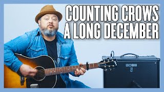 Counting Crows Long December Guitar Lesson + Tutorial