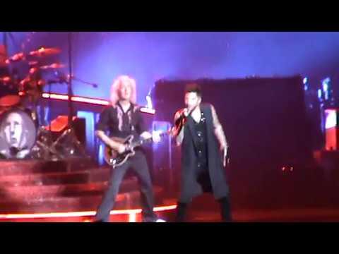 Queen + Adam Lambert koncert I. - Budapest, 2017/11/04