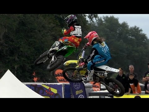 BATTLE: Super Mini 2 Heat Race  Mini O's Supercross 2014