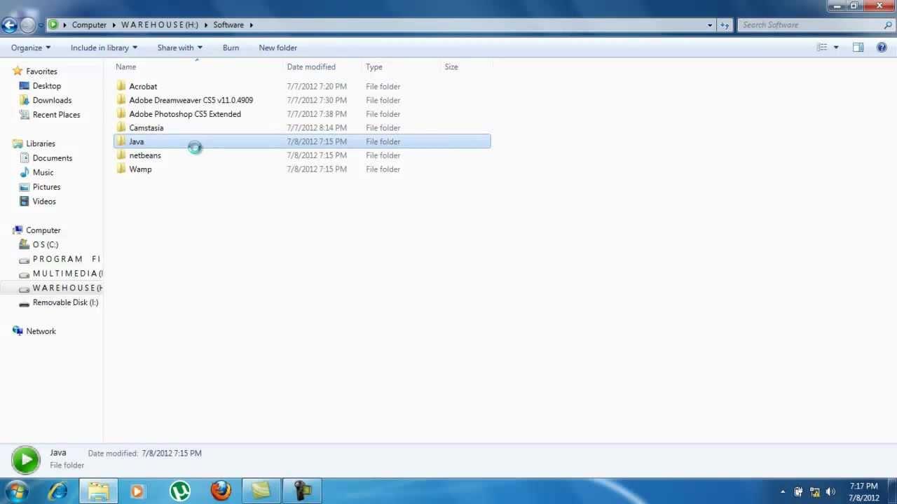 Download Setup JRE for windows 7
