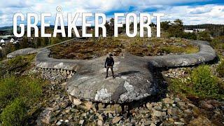 Videoblogg fra Greåker fort
