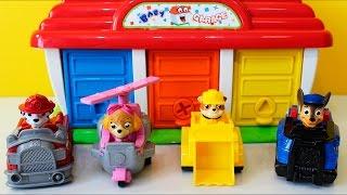PATRULHA CANINA BRINQUEDO GARAGEM SURPRESAS - PAW PATROL BABY GARAGE SURPRISES CLUBE KIDS thumbnail