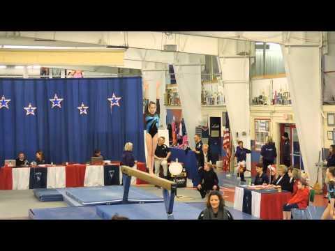 Emily Carey Level 9~Northeast Gymnastics Academy~2015 Parkettes Invitational~Beam