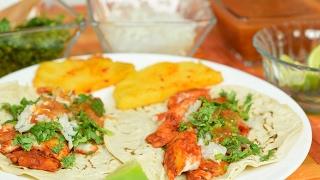 Filete de pescado al pastor | Tacos al pastor