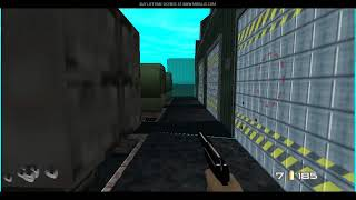 GoldenEye 007 - Shipping Yard
