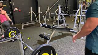 60kg (132 pounds) Biceps Barbell Curls