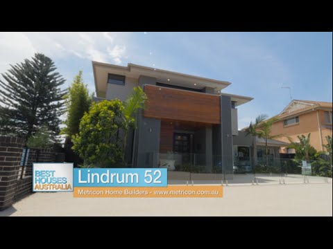 Metricon's Lindrum 52 display home on Best Houses Australia