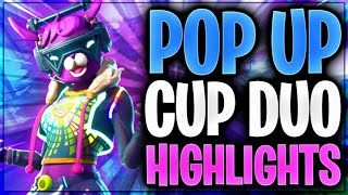 🤩🏅 SO GEIL! Pop-Up-Cup Duo Highlights | Fortnite Battle Royale
