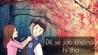 Dil Mera Churaya Kyun   Rahul Jain   Cover   Kumar Sanu   whatsapp status videos   status kings  