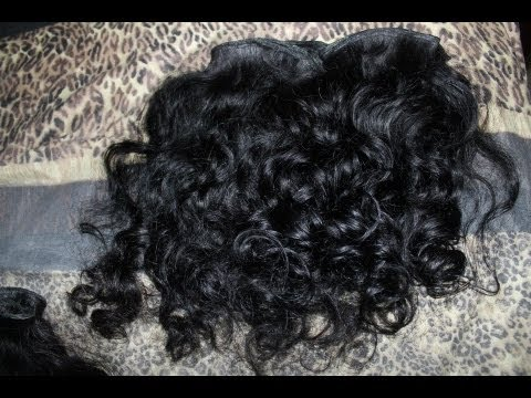 ELECT CAMBODIAN HAIR QampA AND VIRGIN RAW COARSE WAVY AFTER