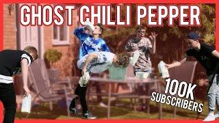 Ghost Chilli Challenge! - Jake Mitchell