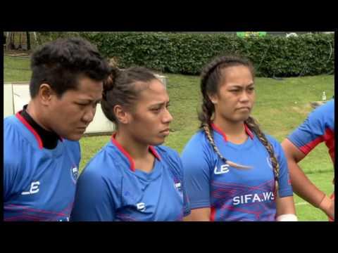 2016 Women Olympic Repechage Match 38 Samoa vs China