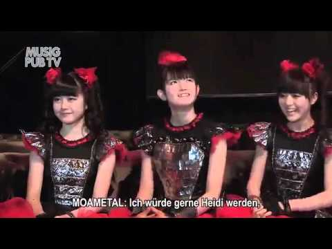 YUIMETAL Was Lost In Meditation At An Interview BABYMETAL