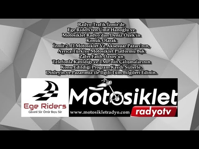 Moto Kask Program Kaydı. Ümit Hanoğlu, Deniz Özek