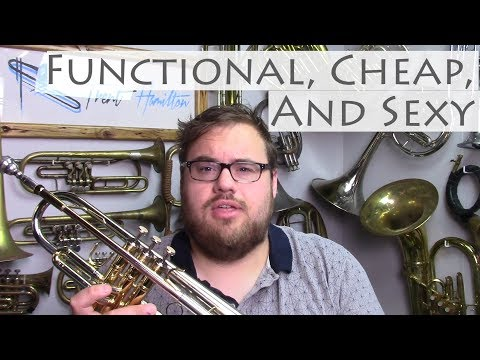 A Functional, Cheap, And SEXY Trumpet For $120...