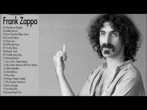 Frank Zappa Greatest Hits Collection || The Very Best of Frank Zappa