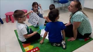 Урок английского языка для дошкольников. Раннее обучение чтению.