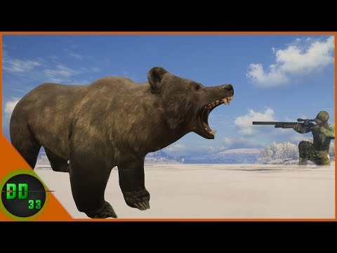 Grizzly Bear Hunting with 12GA SLUGS! Call Of The Wild