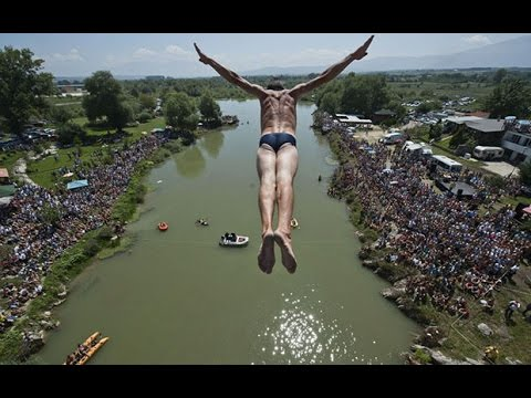 Kosovo diving contest returns after 7-years high and dry