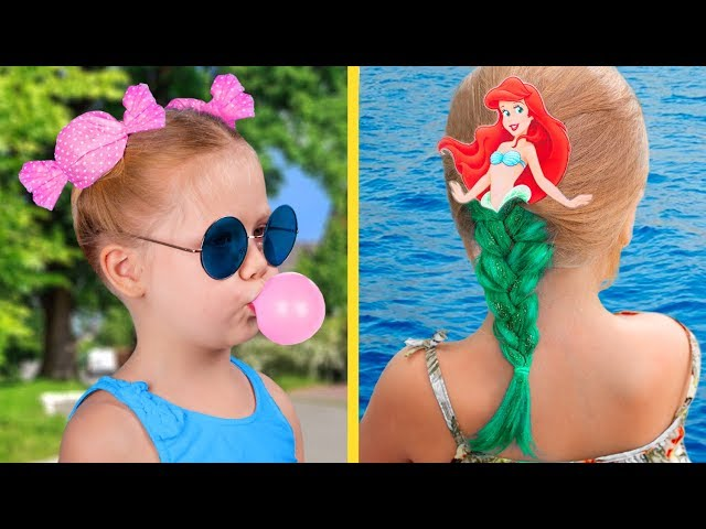 Küçük Kızlar için 13 Şirin Saç Modeli Fikri