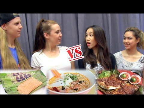 SPICY SINGAPOREAN FOOD CHALLENGE