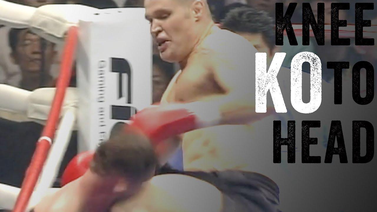Huge Knee-To-Head KO