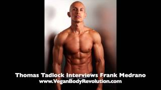 1 of 4 getting a ripped six pack on a vegan diet   interview with frank medrano