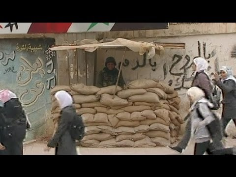 Syrian army assault on Deraa - residents